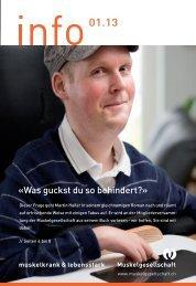 info 01.13 (PDF 4.5 MB) - Schweizerische Gesellschaft für ...