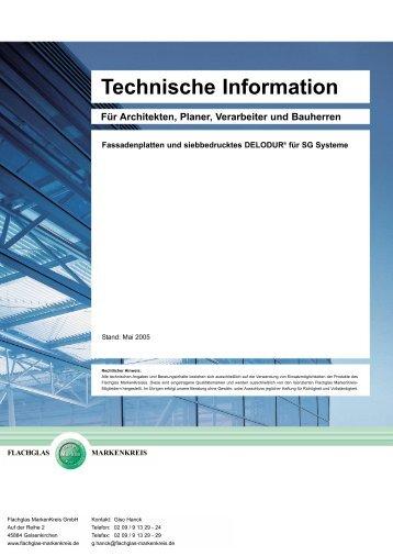 Fassadenplatten und siebbedrucktes DELODUR ... - Adg-gmbh.de