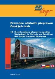 Slovník pojmů z přepravy a spedice - ČD Cargo, as
