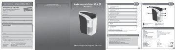 Bedienungsanleitung (Deutsch) - monolith Support
