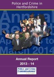PCC Annual Report 2013-14