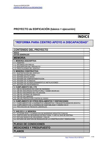 Proyecto B Sico Y De Ejecucion De Remodelaci N De