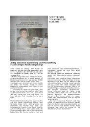 SCHWERINER VOLKSZEITUNG 01.06.2006 - wortlaut-rostock