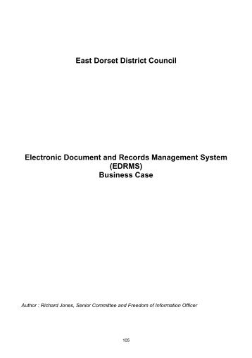 Electronic Document and Records Management System