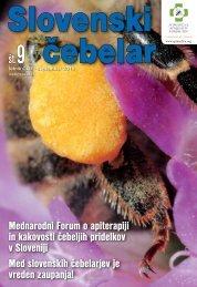 Mednarodni Forum o apiterapiji in kakovosti čebeljih pridelkov v ...