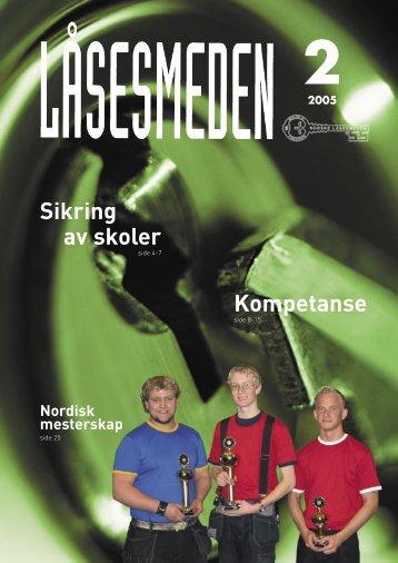 Kompetanse Sikring av skoler - Foreningen Norske LÃ¥sesmeder