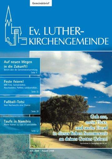 Gemeindebrief 2/06 - lukiju.de