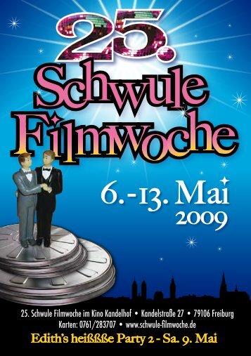 2009 - 25. Schwule Filmwoche Freiburg - Schwule Filmwoche