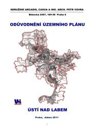 Textová část odůvodnění (PDF) - Statutární město Ústí nad Labem