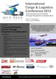 International Cargo & Logistics Conference 2012 - EMP Asia