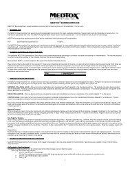 Package Insert Buprenorphine Rev. 11/10 - Medtox