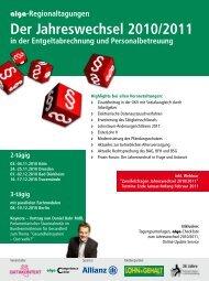 Der Jahreswechsel 2010/2011 - rehmnetz.de