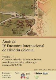 Vol. 17 - O sistema atlantico do tabaco