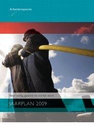 Jaarplan 2009 - Pagina niet gevonden
