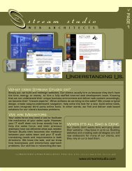 Stream Studio Web Architects