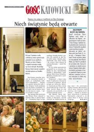 GN Katowice 15/2005 (pdf) - Gość Niedzielny