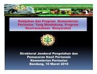 Paparan Kementerian Pertanian, Golden Flower, 9-11 Maret 2010