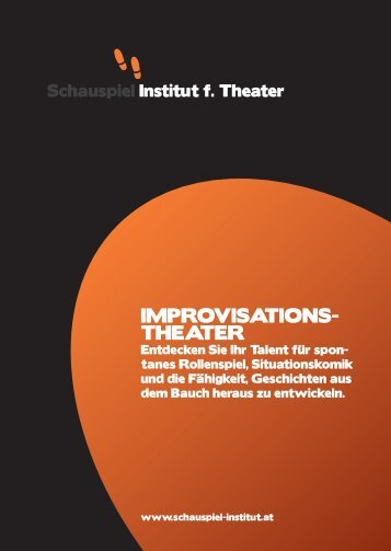 IMPROVISATIONS- THEATER - Westbahntheater