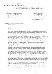 Regeling afsluiten elektriciteit en gas kleinverbruikers - College ...