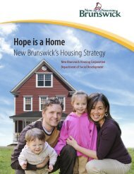Hope is a Home - Government of New Brunswick