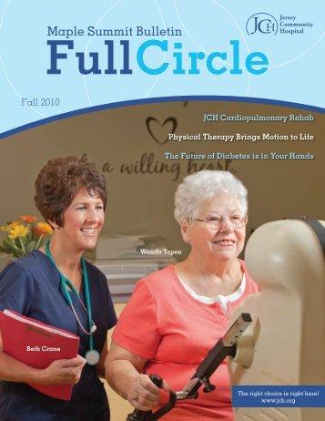 JCH Newsletter Fall 2010 - Jersey Community Hospital