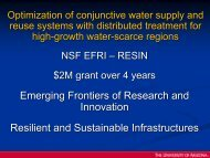 Optimization of Conjunctive Water Supply andRreuse Systems with