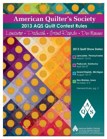 HERE - Quilt Views & News