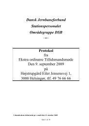 Protokol Ekstra ordinært Tillidsmandsmøde - spdsb.org