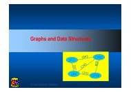 Graphs and Data Structures - University College Cork
