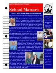 School Matters August 2012 - Bullitt County Public Schools