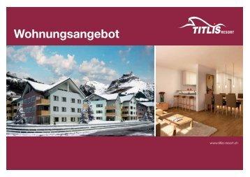 Wohnungsangebot angebot - Titlis Resort