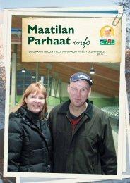 Maatilan Parhaat info 5 / 2011 - Snellman