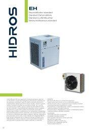 Deumidificatori standard Standard Dehumidifiers Standard ...
