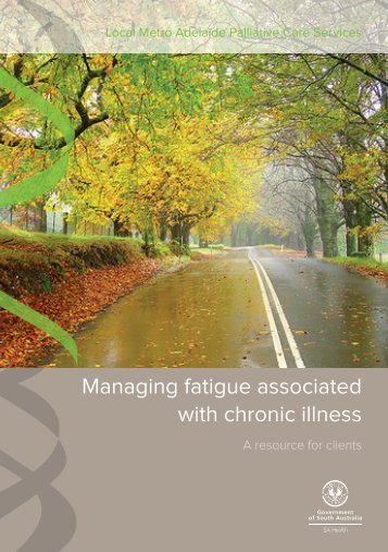 Managing fatigue associated with chronic illness - CareSearch