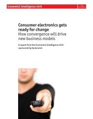 Consumer electronics gets ready for change How convergence will ...