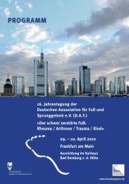 HP DAF 2010 - AGAPLESION Frankfurter Diakonie Kliniken
