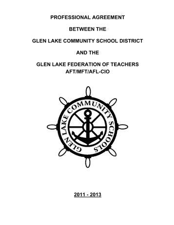 2011-2013 Contract Teachers - Glen Lake Community Schools