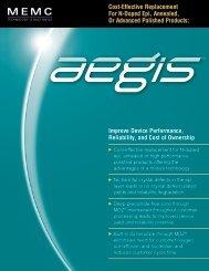 Aegis Snapshot.indd - MEMC Electronic Materials, Inc.