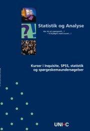 ?!Statistik og Analyse