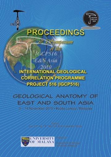 PROCEEDINGS - Department Of Geology - Universiti Malaya