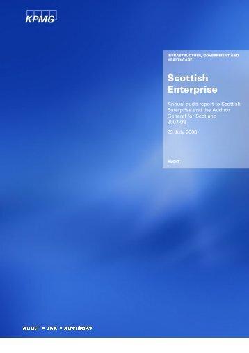 Scottish Enterprise (PDF | 245 KB)Opens in new ... - Audit Scotland