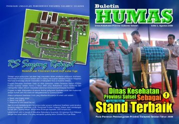 Buletin Humas Dinkes Prov. Sulsel Edisi 2 Agustus 2009