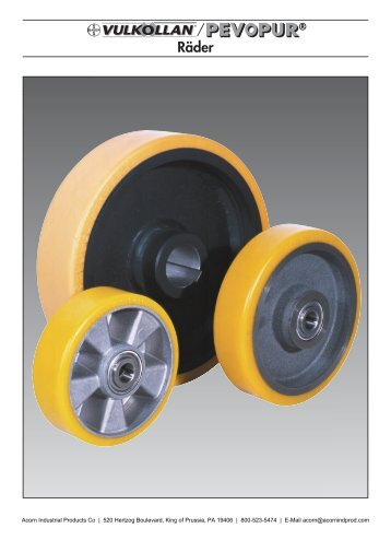 Räder - Acorn Industrial Products Co