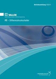 FÜ – Differenzdruckschalter - Heinemann GmbH