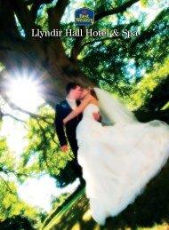 Llyndir Hall wedding brochure - Feathers Hotel Group - UK.COM