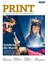 WDR Print Januar 2014 (PDF-Download: 2,7 MB)