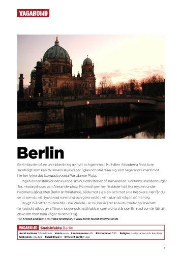 Berlin - Vagabond