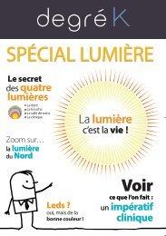 Spécial Lumière - Degré K
