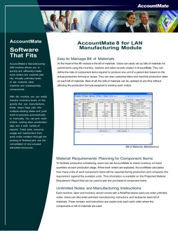 Software That Fits - AccountMate