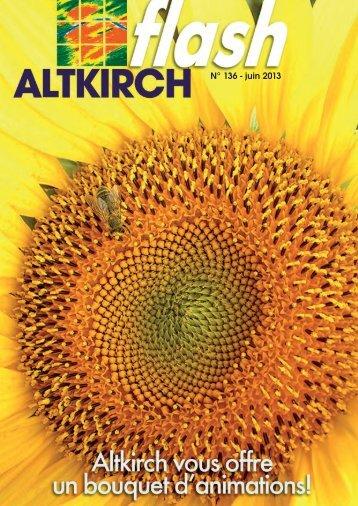 Altkirch flash n°136 - juin 2013 - Site officiel de la Mairie altkirch